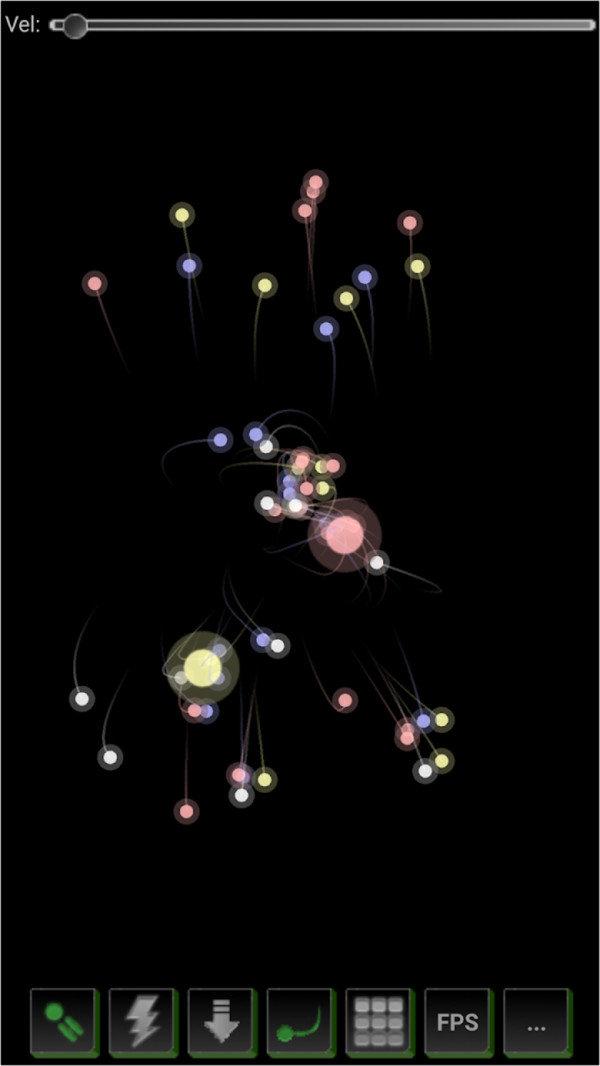 粉末炫彩粒子