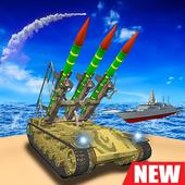 导弹发射战舰岛屿战争