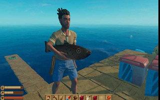 海上生存冒险类游戏