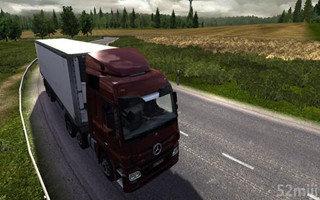 新出的卡车模拟类游戏