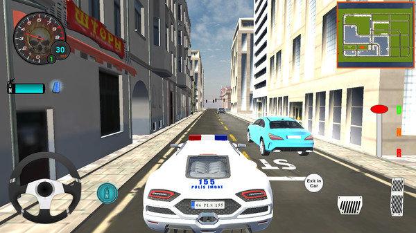 豪华警车模拟器