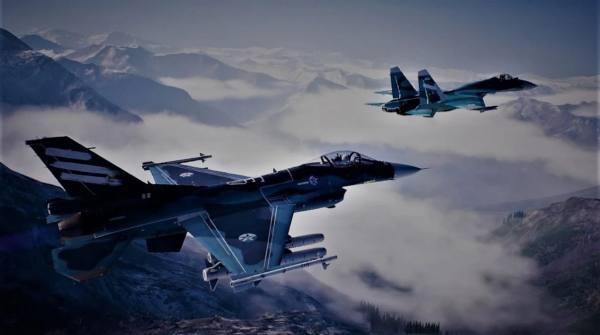 空战空中毁灭