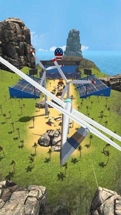 滑翔机跳跃