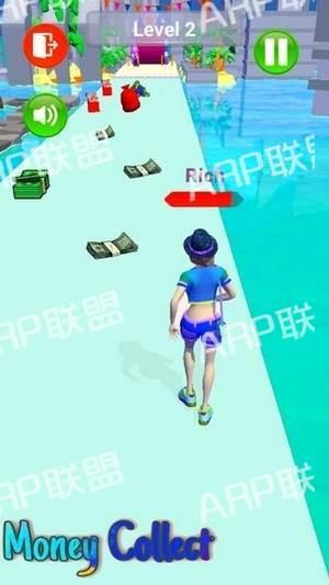 丰富的跑步比赛3D