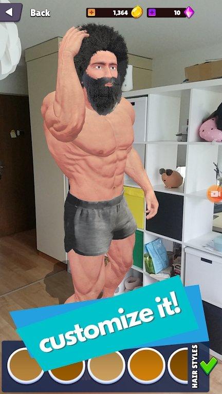钢铁肌肉AR
