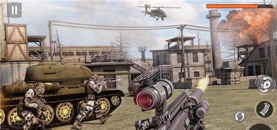 军队大射击