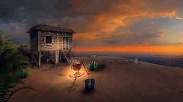 荒岛探险游戏