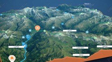 高清3D实景地图导航软件
