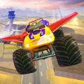 越野飞行怪物卡车驾驶