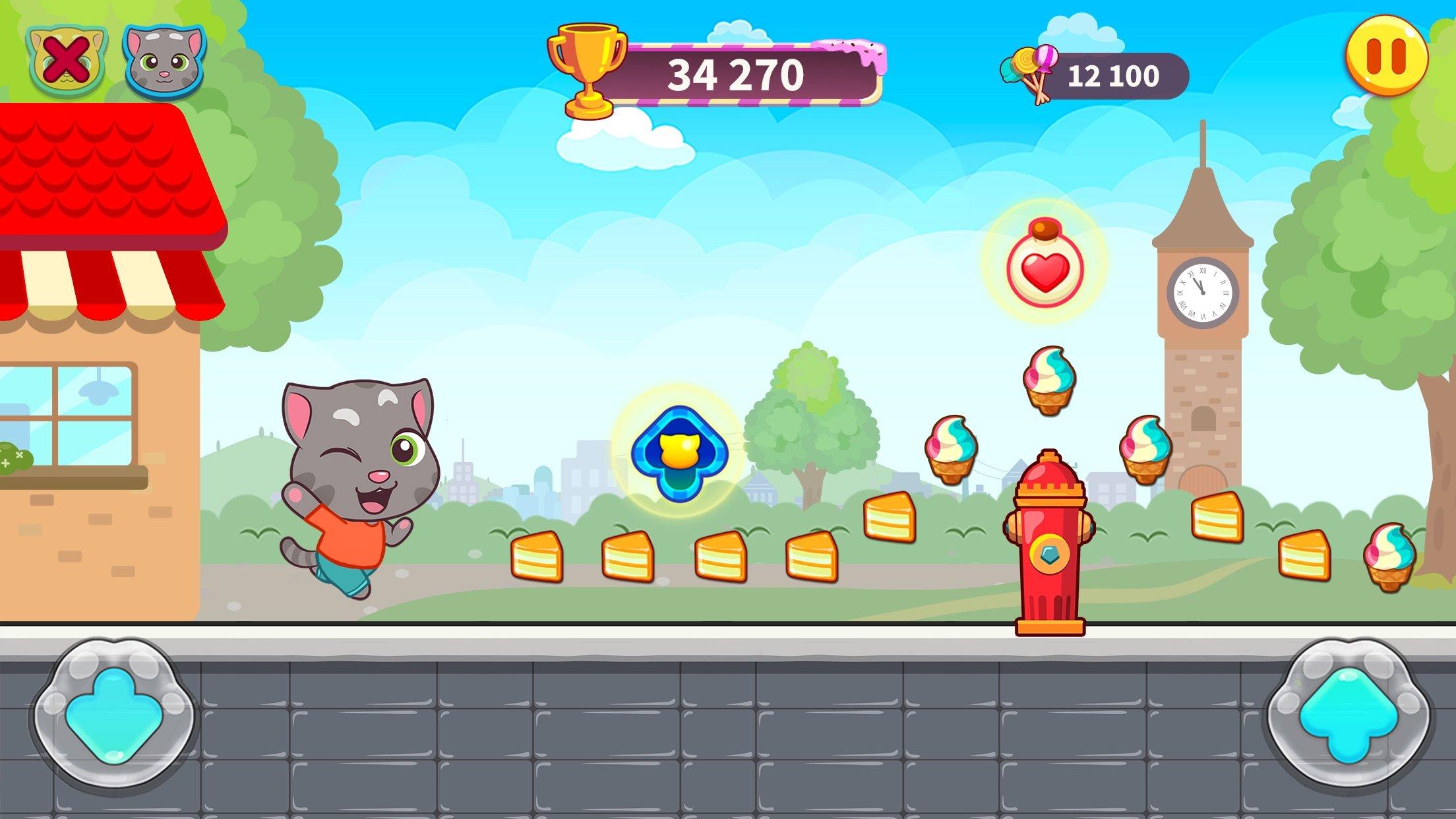 汤姆猫炫跑游戏