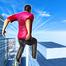 屋顶特技翻转和奔跑3D